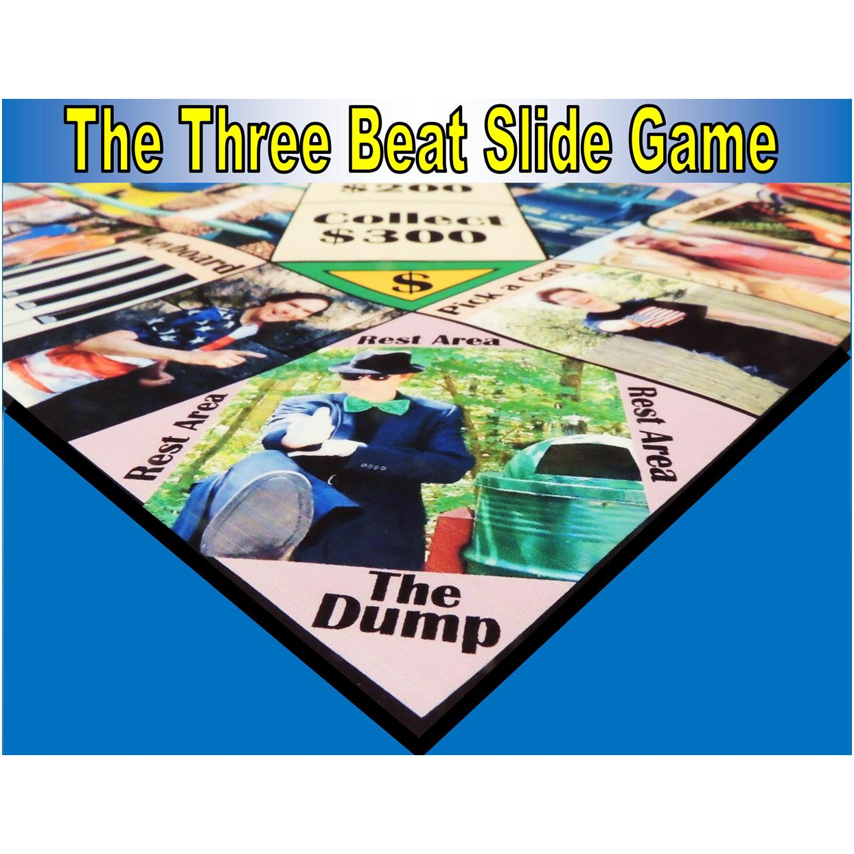 The Three Beat Slide Board Game