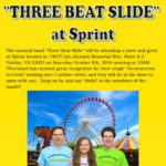 three beat slide meet-greet-sprint